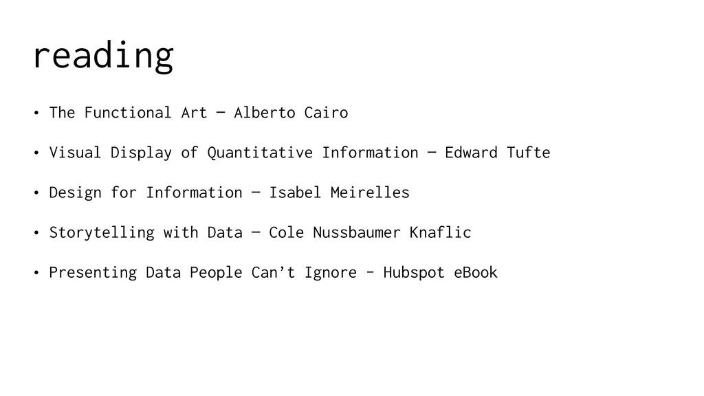 reading • The Functional Art — Alberto Cairo • ...