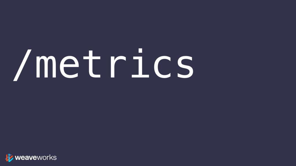 /metrics