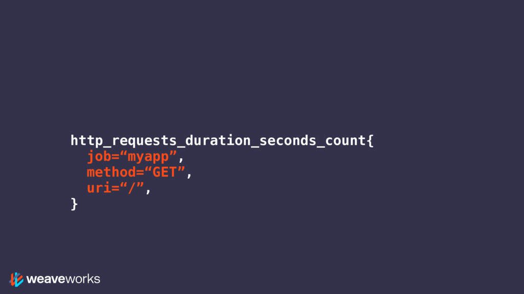 """http_requests_duration_seconds_count{ job=""""myap..."""