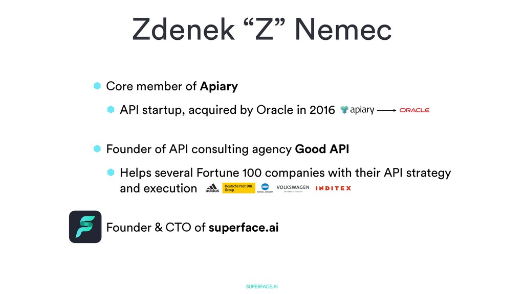 Core member of Apiary   API startup, acquired b...