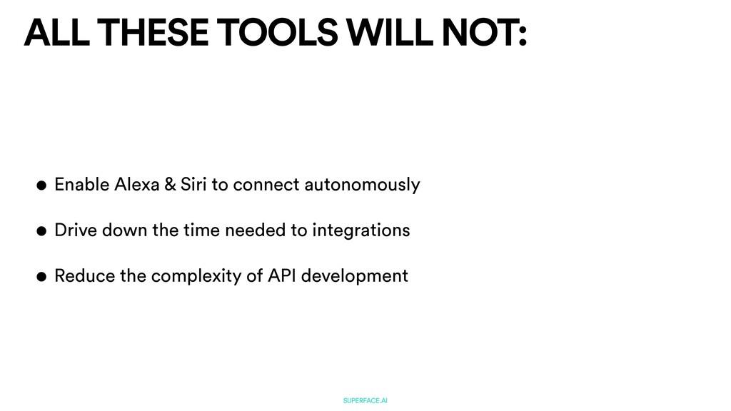 SUPERFACE.AI • Enable Alexa & Siri to connect a...