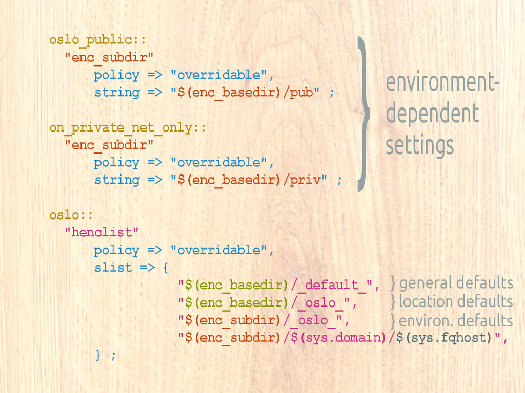 "oslo_public:: ""enc_subdir"" policy => ""overridab..."