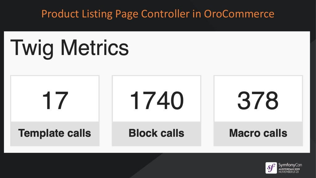 Product Listing Page Controller in OroCommerce