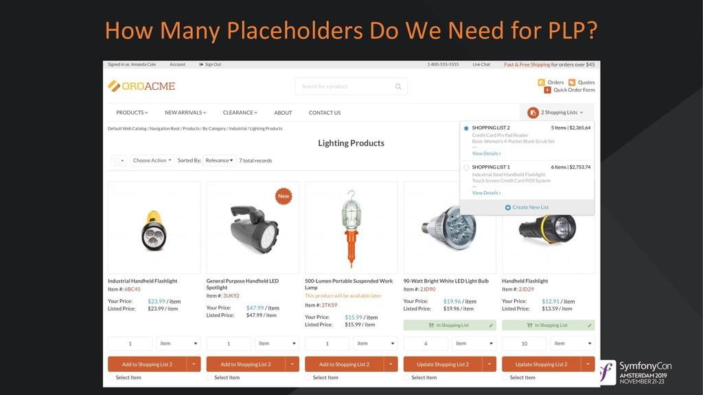 How Many Placeholders Do We Need for PLP?