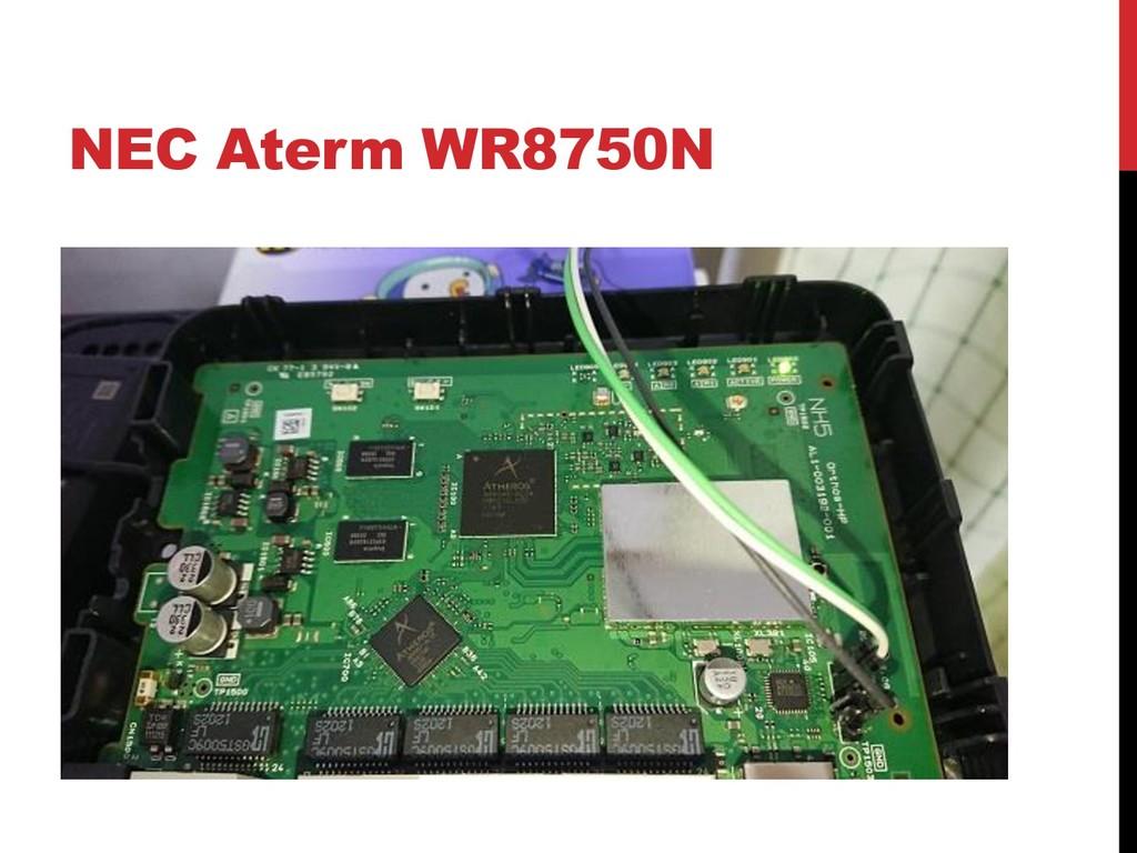 NEC Aterm WR8750N