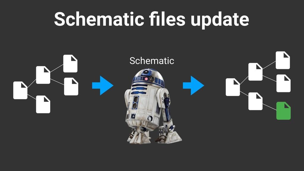 Schematic files update Schematic