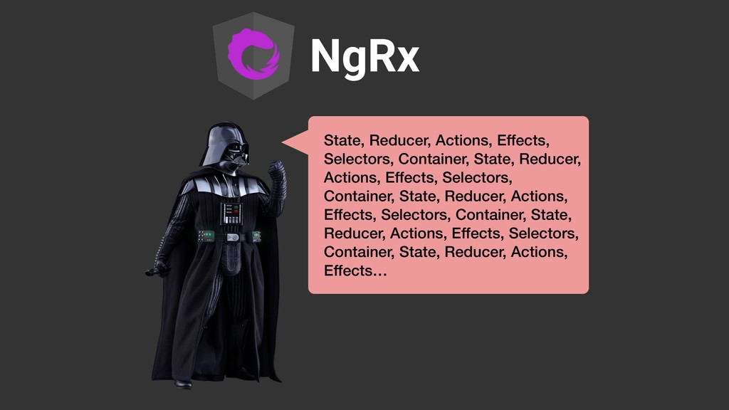 NgRx State, Reducer, Actions, Effects, Selector...