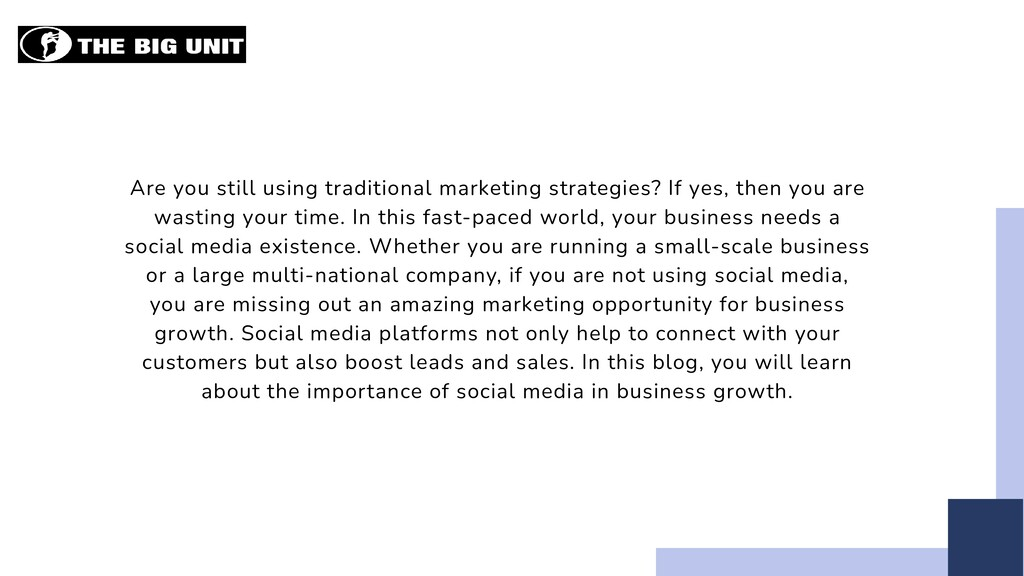 Are you still using traditional marketing strat...