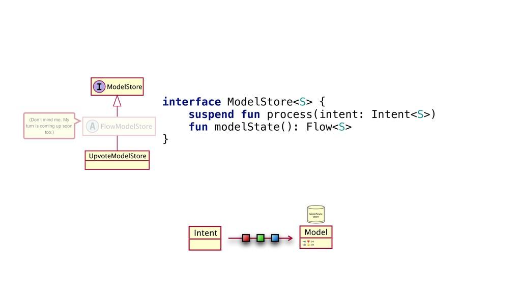 Intent interface_ModelStore<S>_{y suspend_fun p...