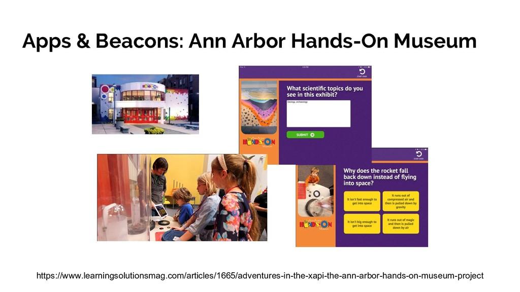 Apps & Beacons: Ann Arbor Hands-On Museum https...