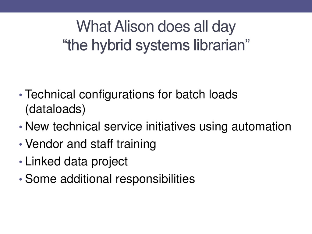 """What Alison does all day """"the hybrid systems li..."""