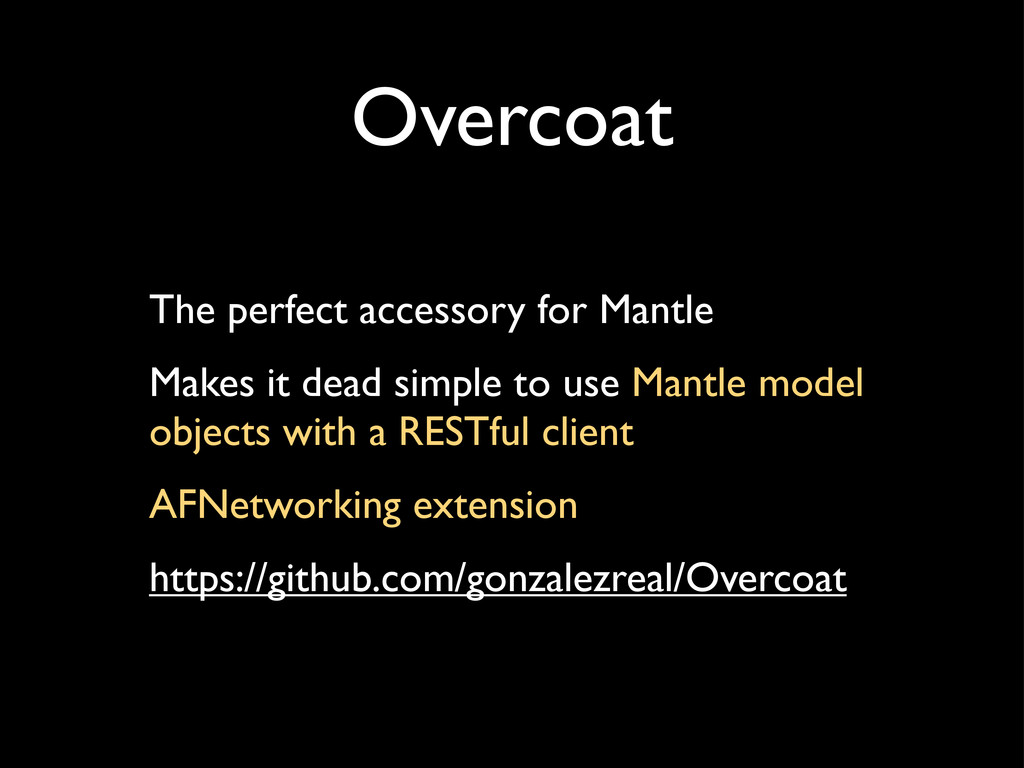 Overcoat The perfect accessory for Mantle Makes...