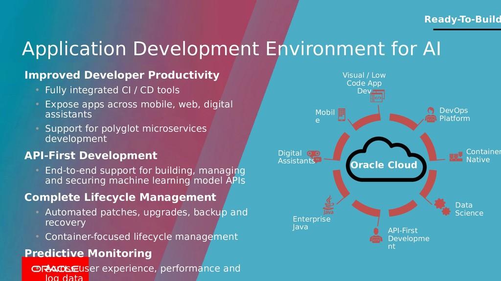 Application Development Environment for AI Orac...