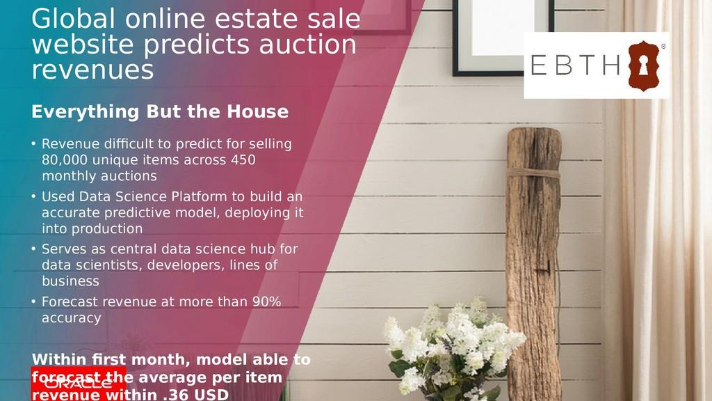 Global online estate sale website predicts auct...