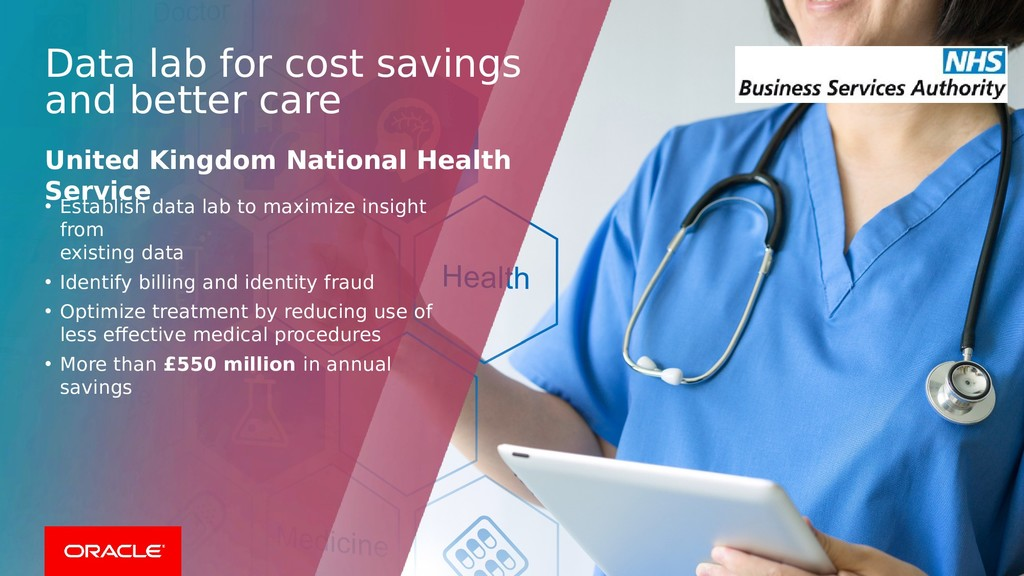 Data lab for cost savings and better care Unite...