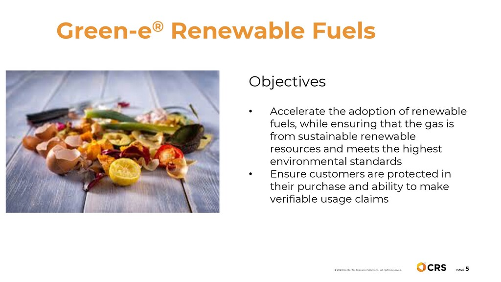 PAGE 5 Objectives • Accelerate the adoption of ...