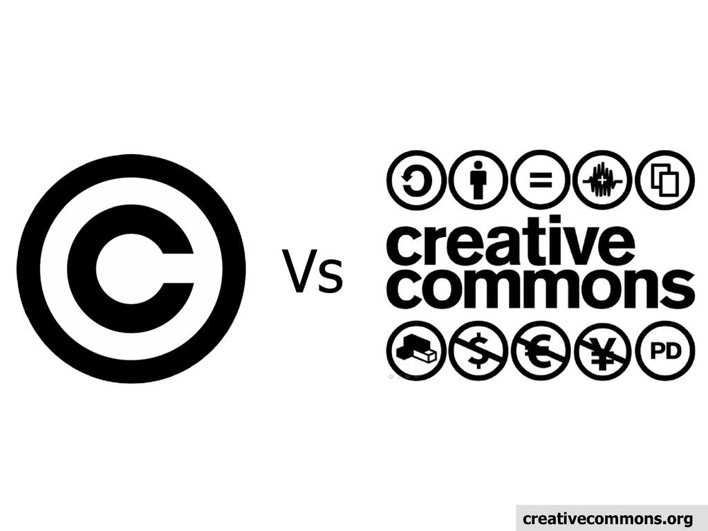 Vs creativecommons.org