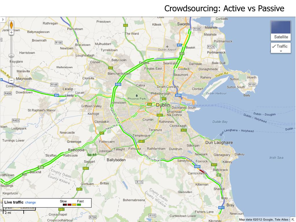 Crowdsourcing: Active vs Passive