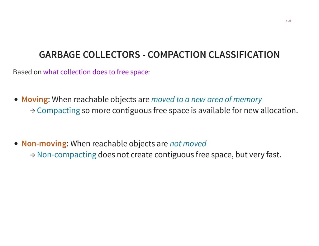 GARBAGE COLLECTORS - COMPACTION CLASSIFICATION ...