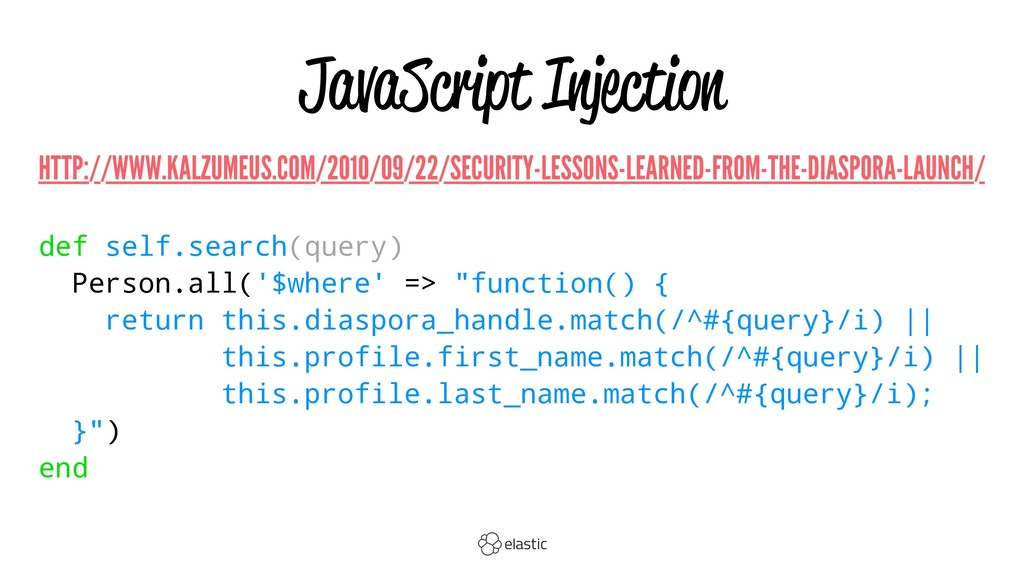 JavaScript Injection HTTP://WWW.KALZUMEUS.COM/2...