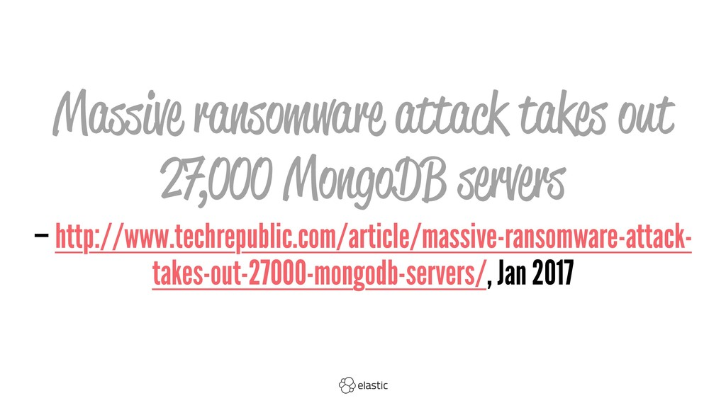 Massive ransomware attack takes out 27,000 Mong...
