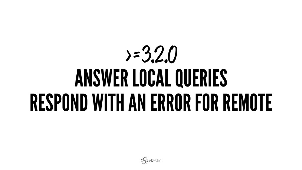 >=3.2.0 ANSWER LOCAL QUERIES RESPOND WITH AN ER...