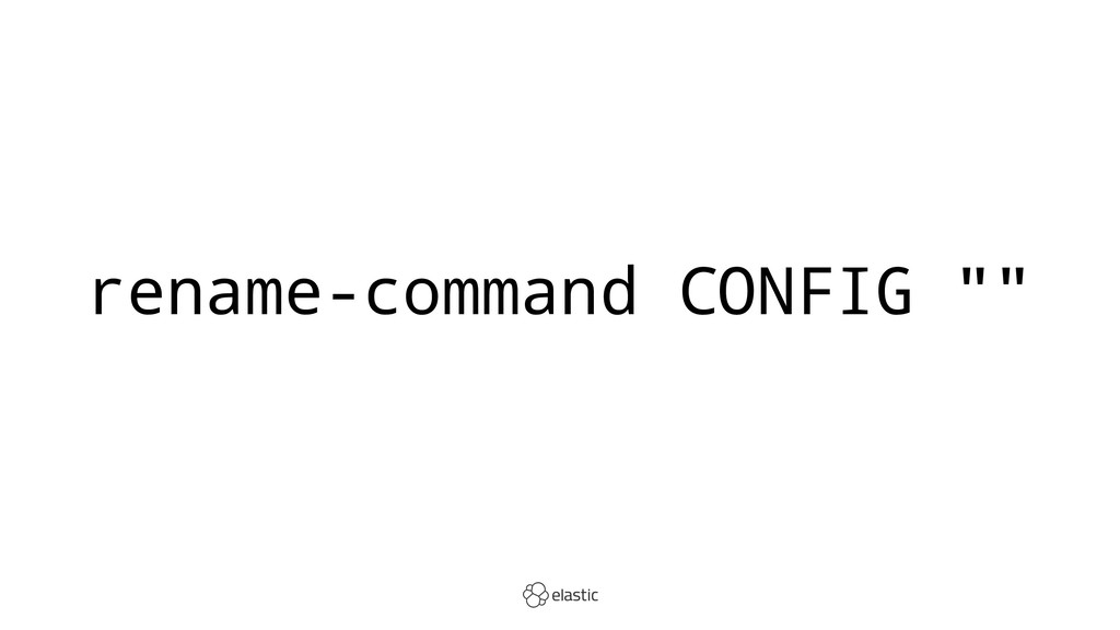 "rename-command CONFIG """""