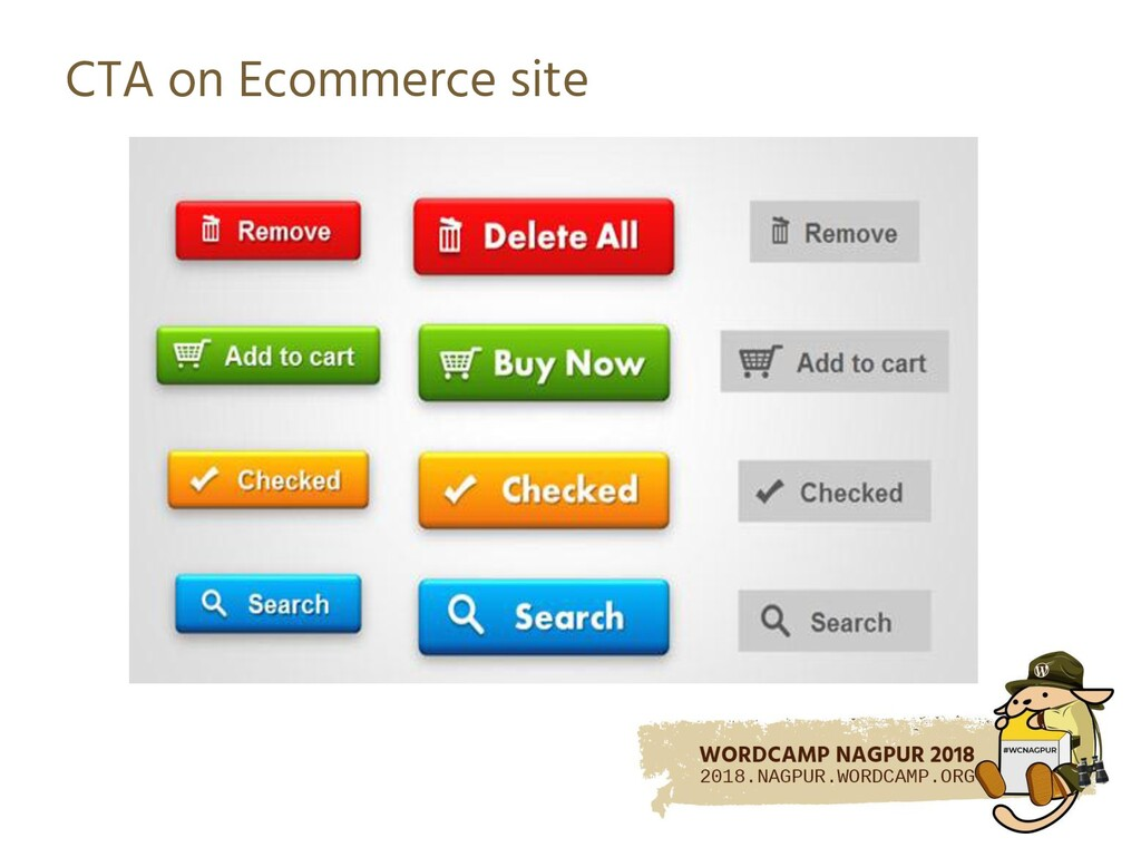 CTA on Ecommerce site
