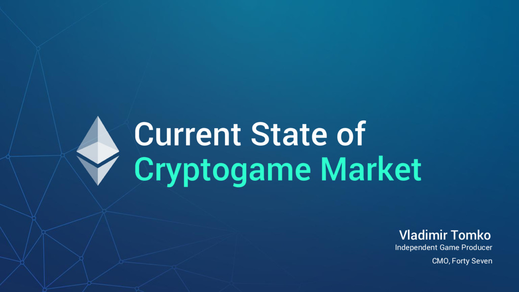 Current State of Cryptogame Market Independent ...