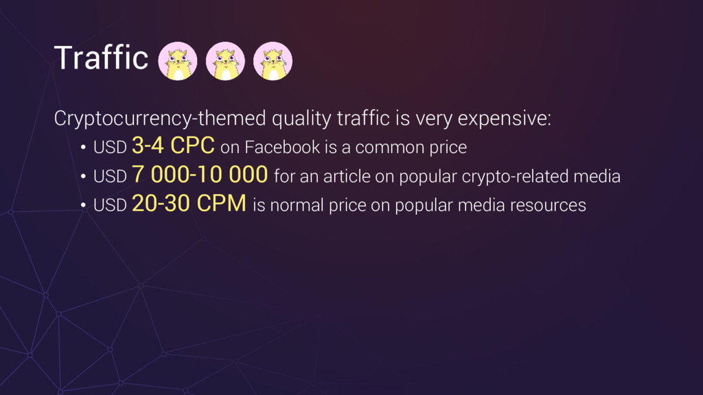 Traffic Cryptocurrency-themed quality traffic i...