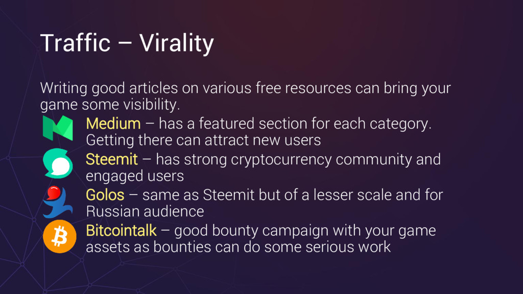 Traffic – Virality Writing good articles on var...