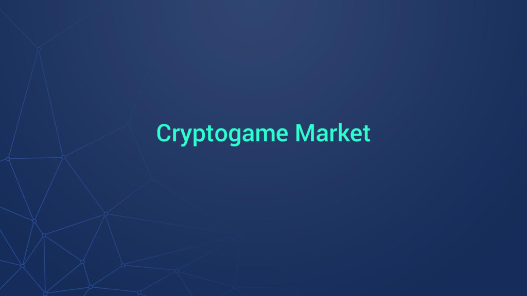 Cryptogame Market