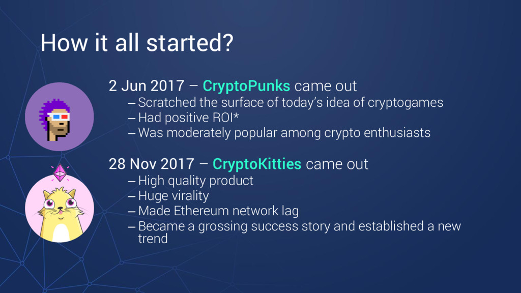 How it all started? 2 Jun 2017 – CryptoPunks ca...