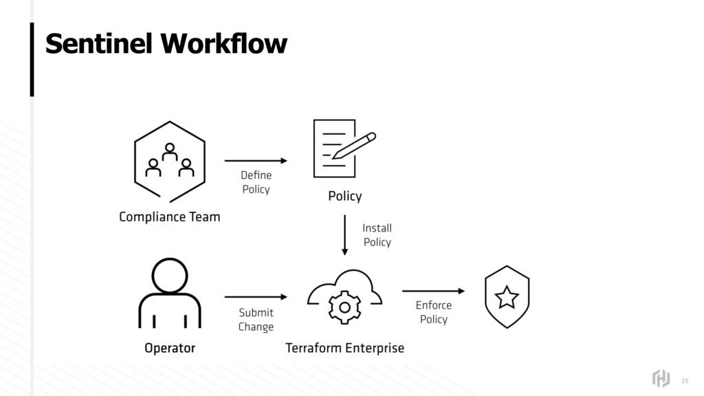 Sentinel Workflow 25