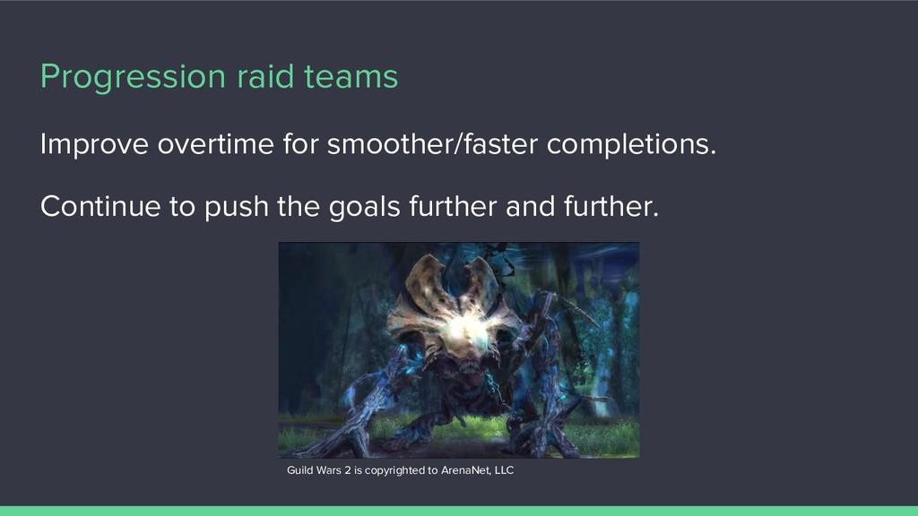 Progression raid teams Improve overtime for smo...
