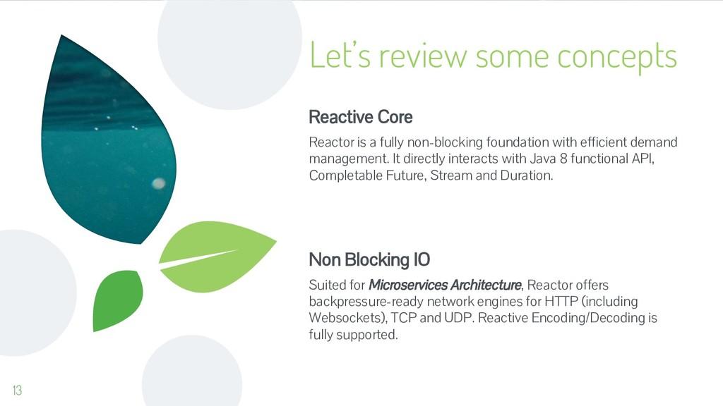Let's review some concepts Reactive Core Reacto...