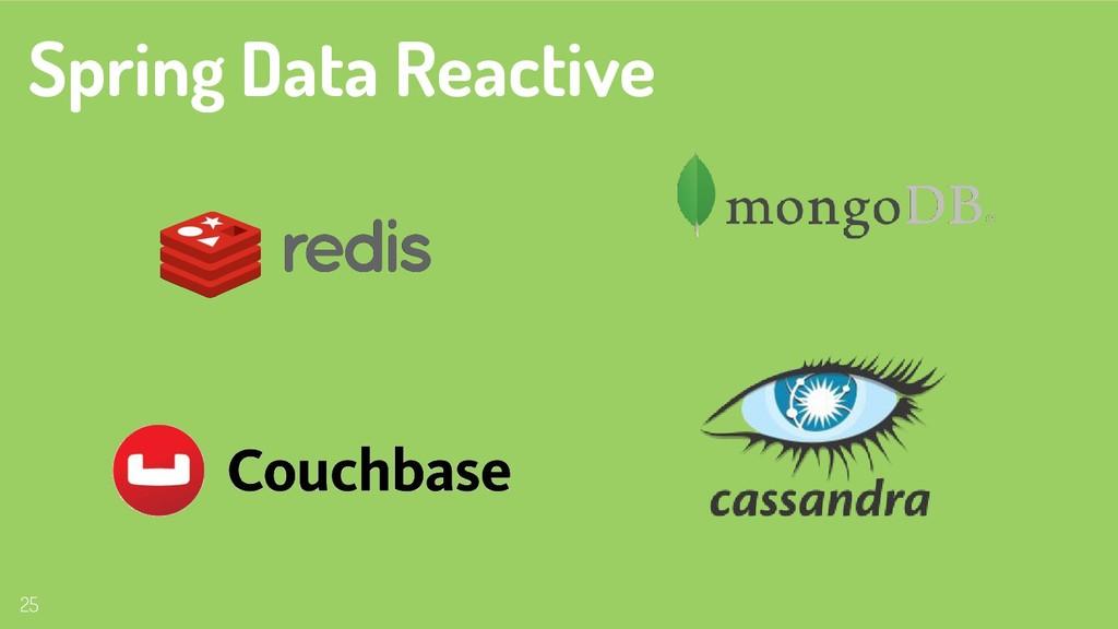 25 Spring Data Reactive