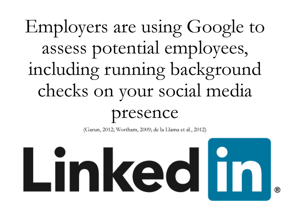 Employers are using Google to assess potential ...