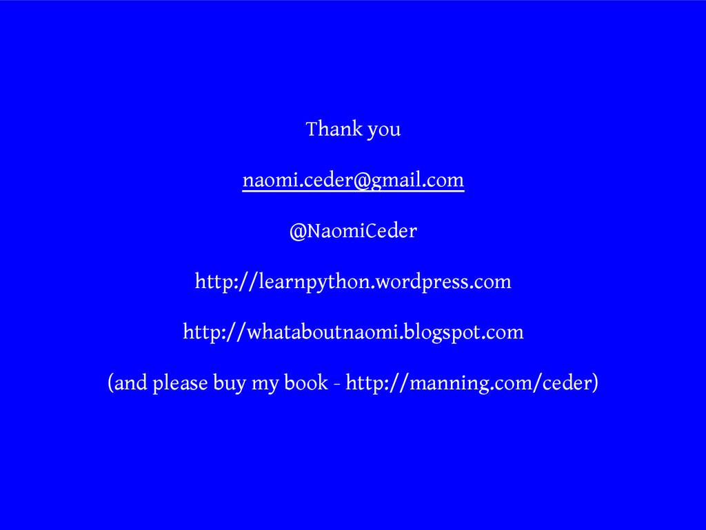 Thank you naomi.ceder@gmail.com @NaomiCeder htt...