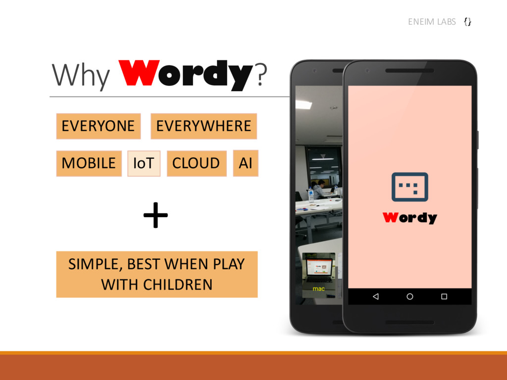 Why Wordy? EVERYONE EVERYWHERE MOBILE IoT AI CL...