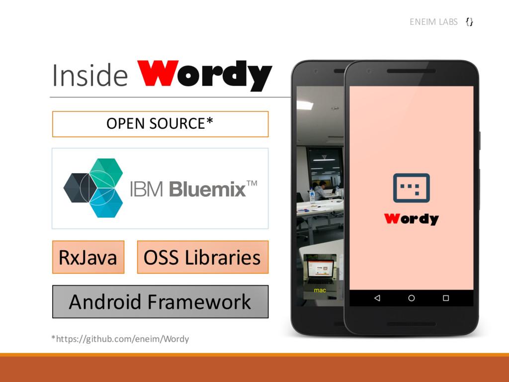 Inside Wordy ENEIM LABS Android Framework RxJav...
