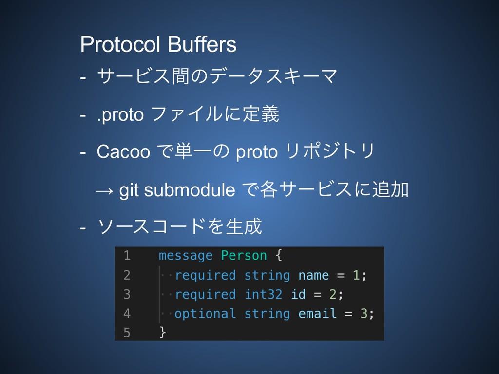 Protocol Buffers - αʔϏεؒͷσʔλεΩʔϚ - .proto ϑΝΠϧʹ...