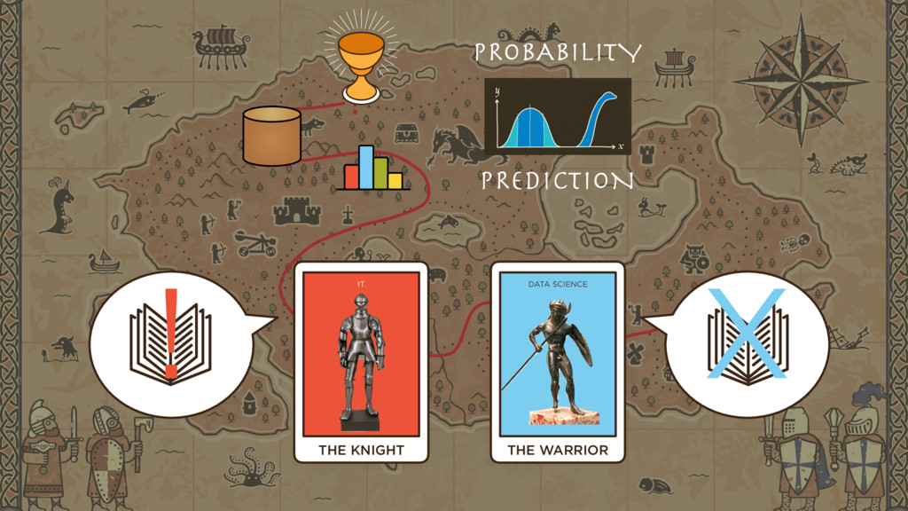 ? THE KNIGHT IT ! THE WARRIOR DATA SCIENCE PROB...