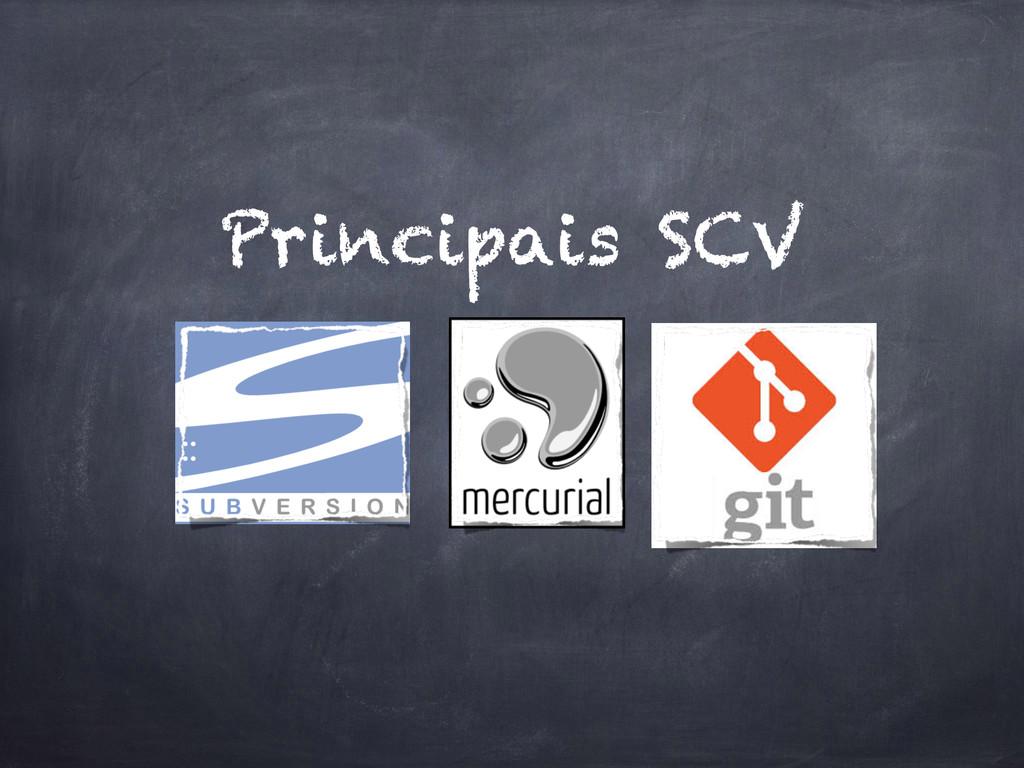 Principais SCV