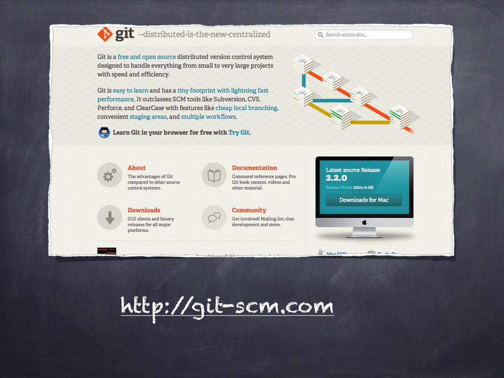 http:/ /git-scm.com