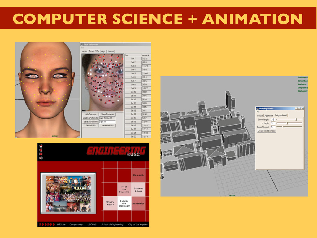 COMPUTER SCIENCE + ANIMATION