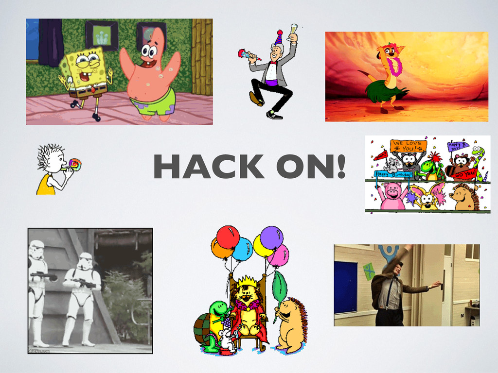 HACK ON!