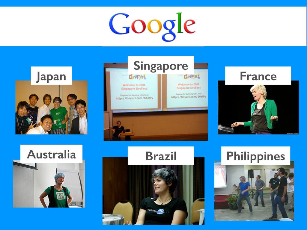 Japan Australia Singapore France Brazil Philipp...