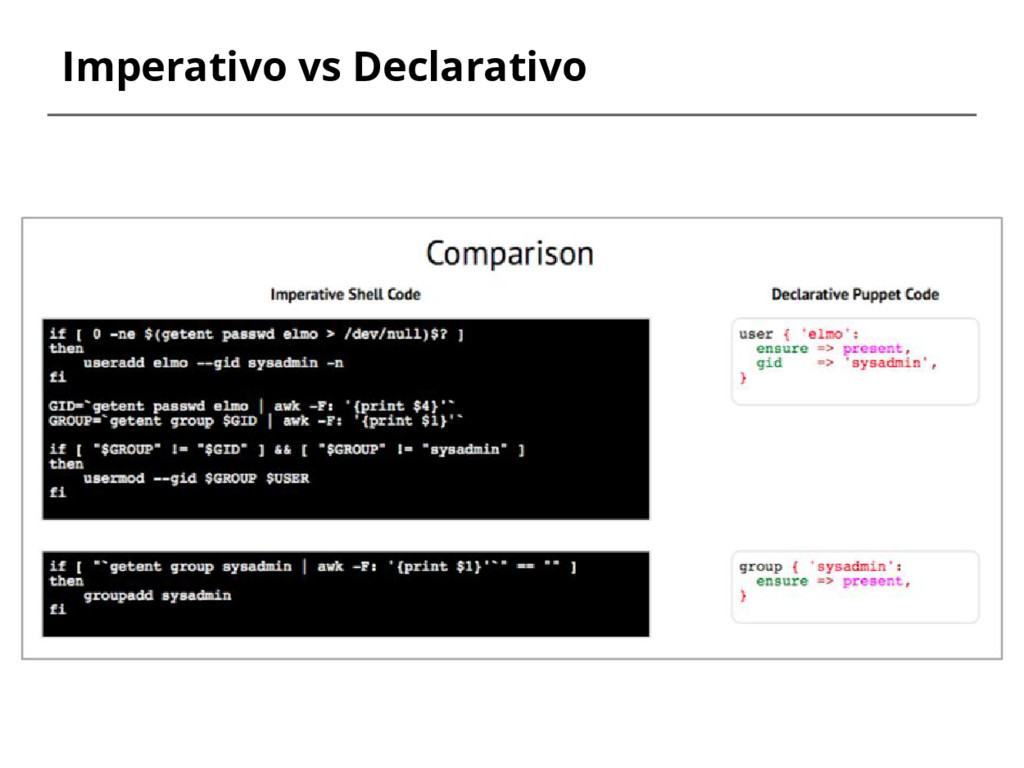 Imperativo vs Declarativo