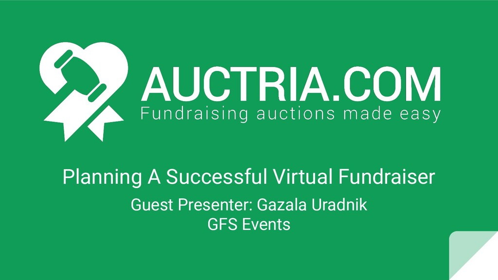 Planning A Successful Virtual Fundraiser Guest ...